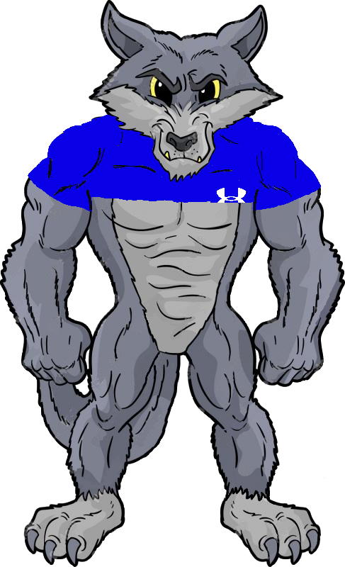 SPS Lacrosse Defensive Wolf_Mascot