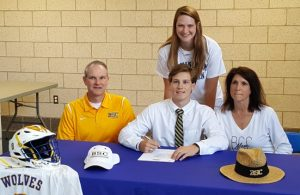 Dylan Futrell Signing Day